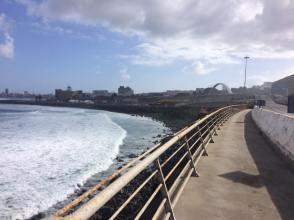 Las Palmas coast line