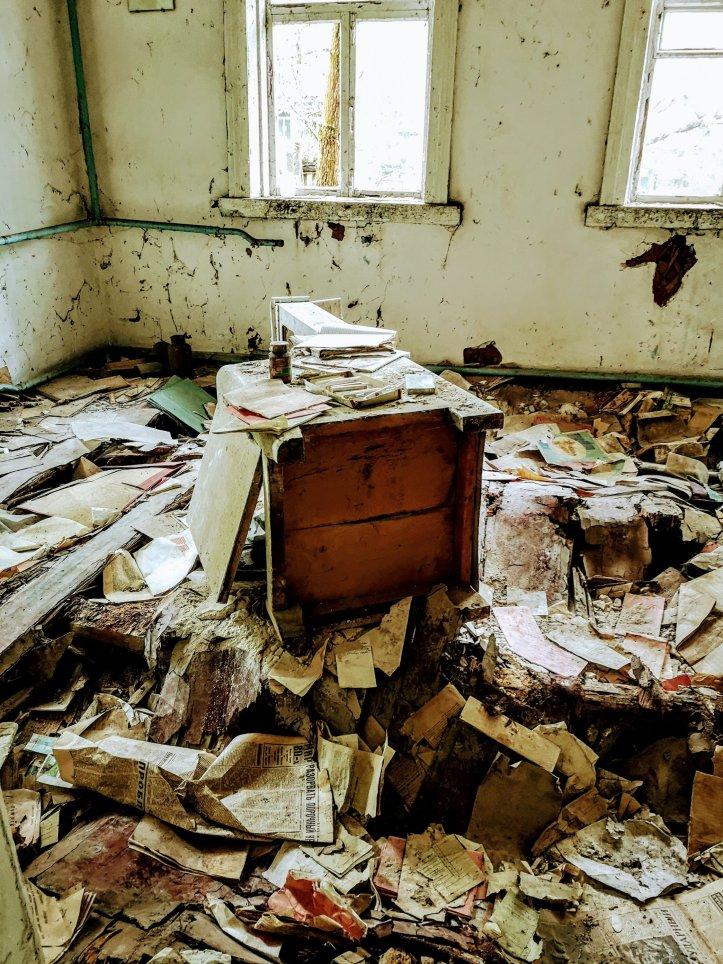 Chernobyl hospital